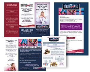 ExtraStep Films Trifold Brochure