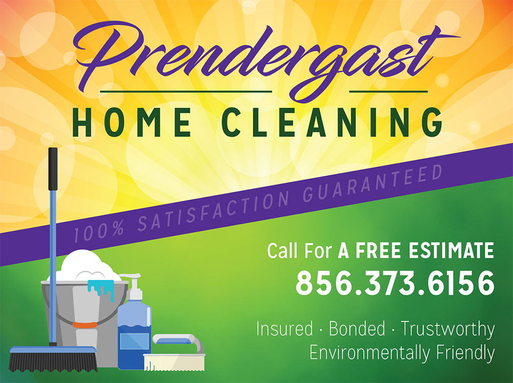 direct mail postcard design prendergast home cleaning