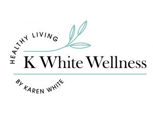 K White Wellness Logo Design