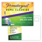 Prendergast Home Cleaning Direct Mail Postcard Design