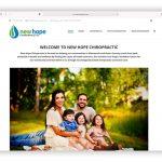 New Hope Chiropractic Website