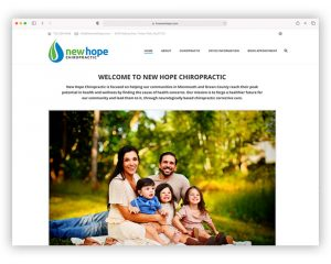New Hope Chiropractic Website