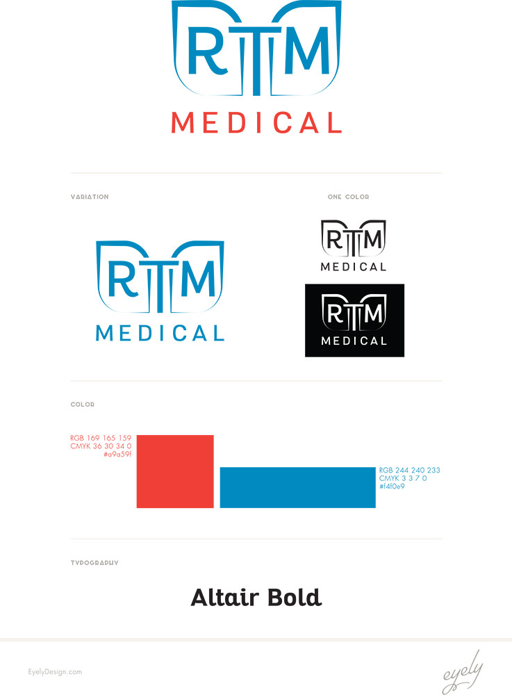 medical company logo design