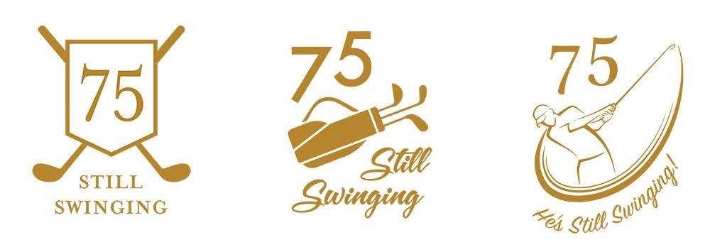 Still Swinging Logo design options