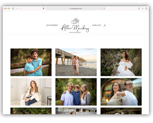 Allee Mackey Photography Website