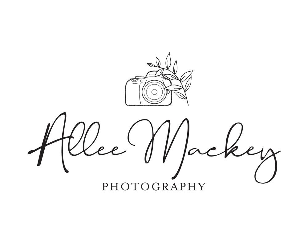 allee mackey photography logo design